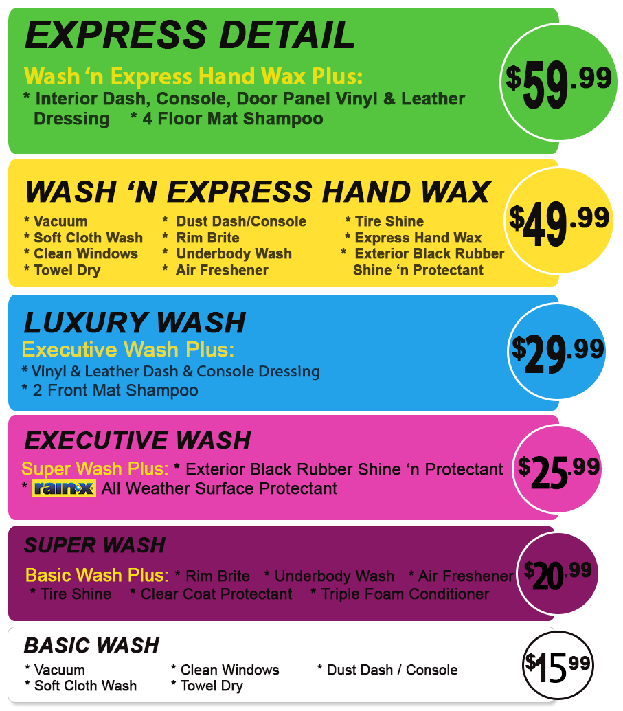 Car Wash Greeley  Wash n Gloss  Full Service Detailing