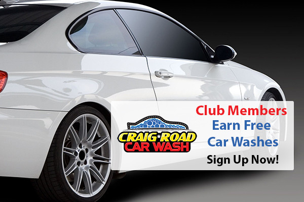 Club Members -Free Car Wash